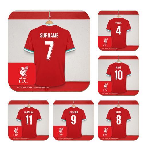 Liverpool FC Dressing Room Coasters