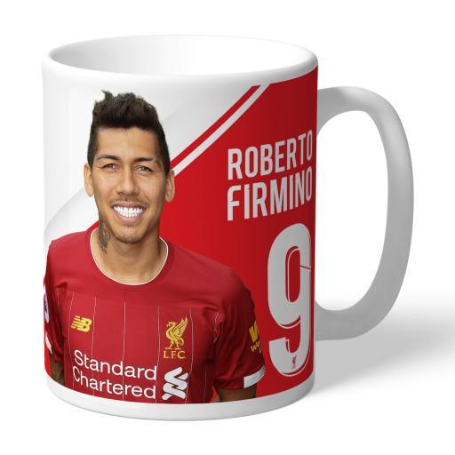 Liverpool FC Firmino Autograph Mug