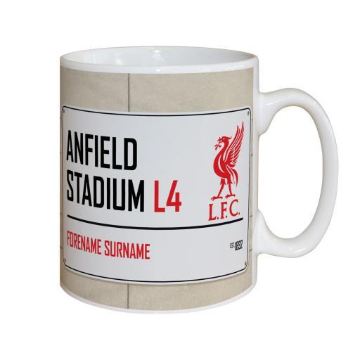 Liverpool FC Street Sign Mug