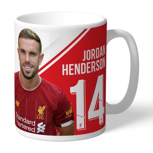 Liverpool FC Henderson Autograph Mug