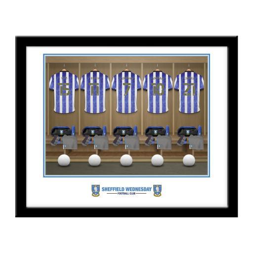 Sheffield Wednesday FC Dressing Room Framed Print