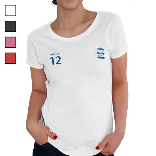 Birmingham City FC Ladies Sports T-Shirt