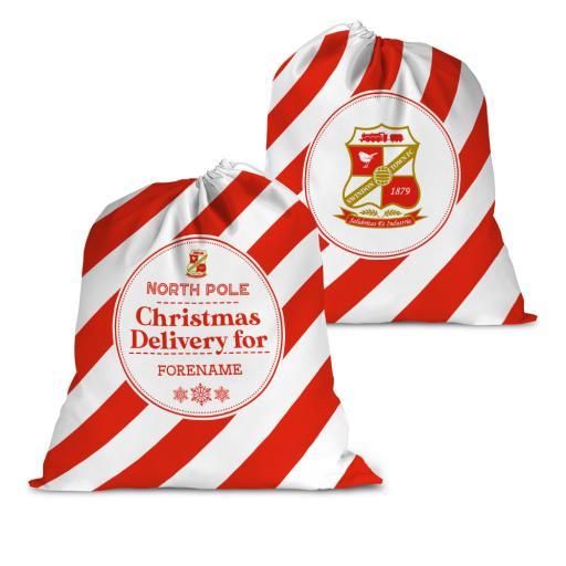 Swindon Town Christmas Delivery Santa Sack