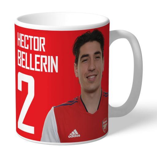 Arsenal FC Bellerin Autograph Mug