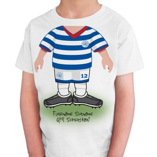 Queens Park Rangers FC Kids Use Your Head T-Shirt