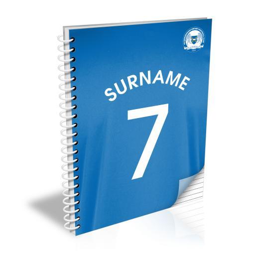 Peterborough United FC Shirt Notebook