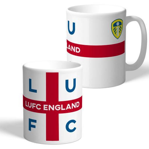 Leeds United FC England Supporters Club Mug