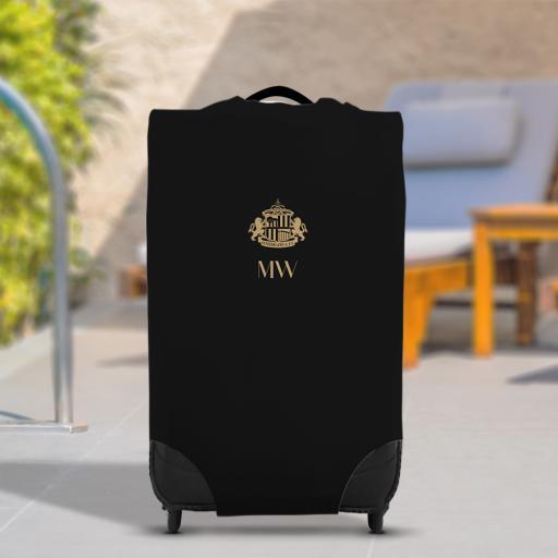Sunderland AFC Initials Caseskin Suitcase Cover (Medium)