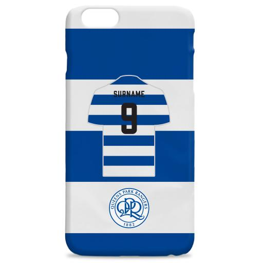 Queens Park Rangers FC Shirt Hard Back Phone Case