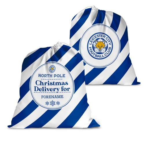 Leicester City FC Christmas Delivery Santa Sack