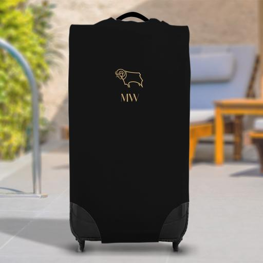 Derby County Initials Caseskin Suitcase Cover (Large)