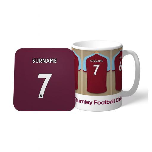 Burnley FC Dressing Room Mug & Coaster Set
