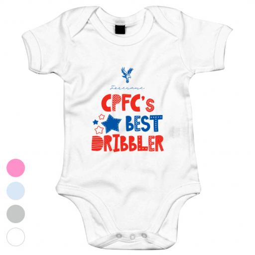 Crystal Palace Best Dribbler Baby Bodysuit