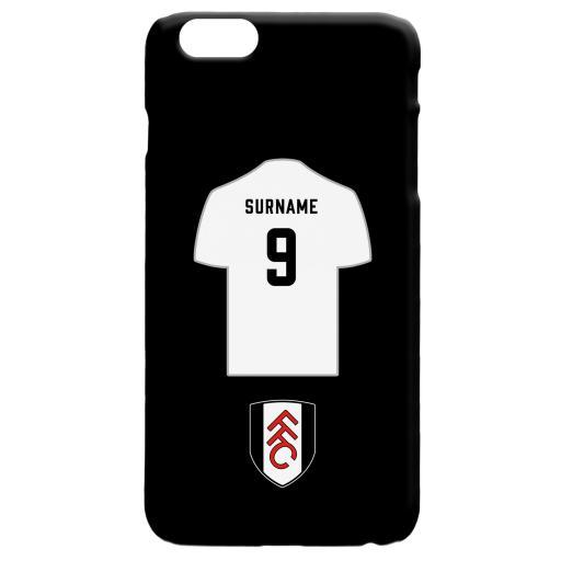 Fulham FC Shirt Hard Back Phone Case
