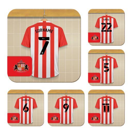 Sunderland AFC Dressing Room Coasters