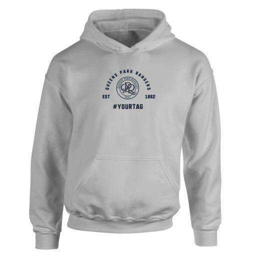 Queens Park Rangers FC Vintage Hashtag Hoodie