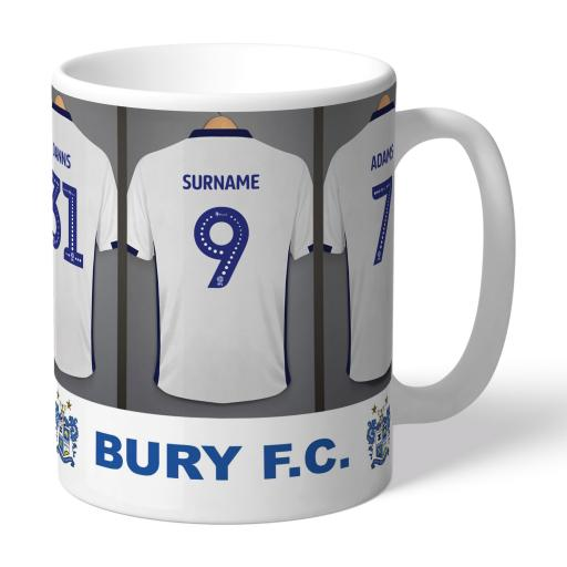 Bury FC Dressing Room Mug