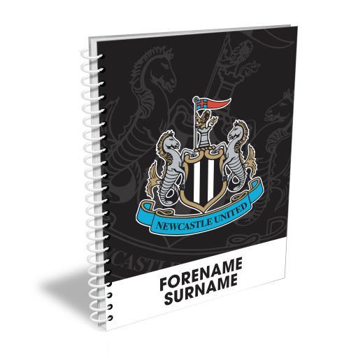 Newcastle United FC Bold Crest Notebook