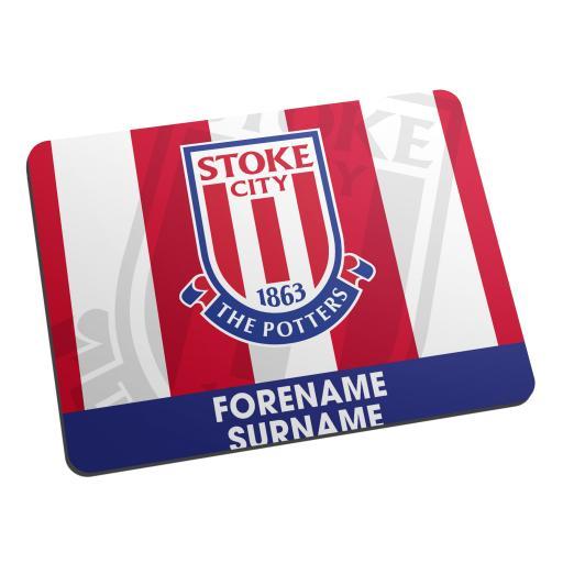 Stoke City FC Bold Crest Mouse Mat