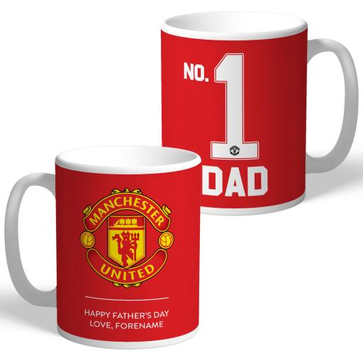 Manchester United FC No.1 Dad Mug
