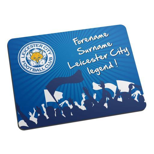 Leicester City FC Legend Mouse Mat