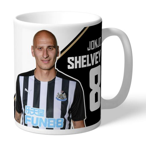 Newcastle United FC Shelvey Autograph Mug