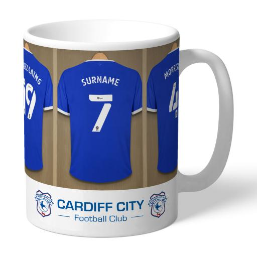 Cardiff City Dressing Room Mug