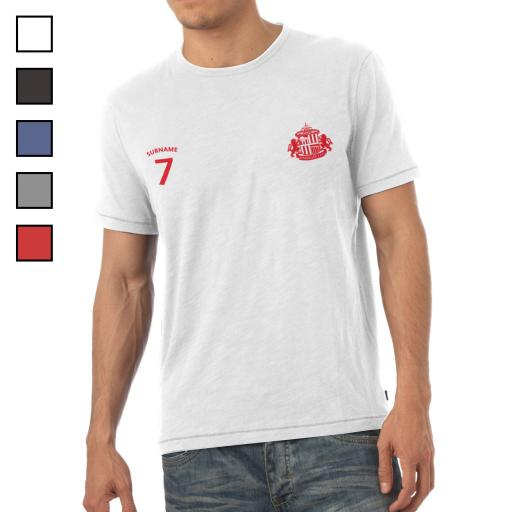 Sunderland AFC Mens Sports T-Shirt
