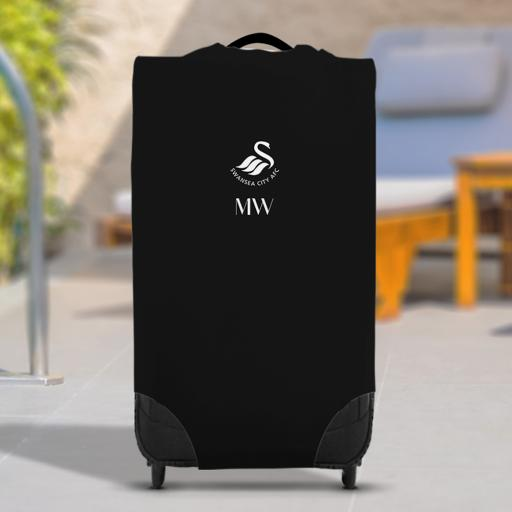 Swansea City AFC Initials Caseskin Suitcase Cover (Small)