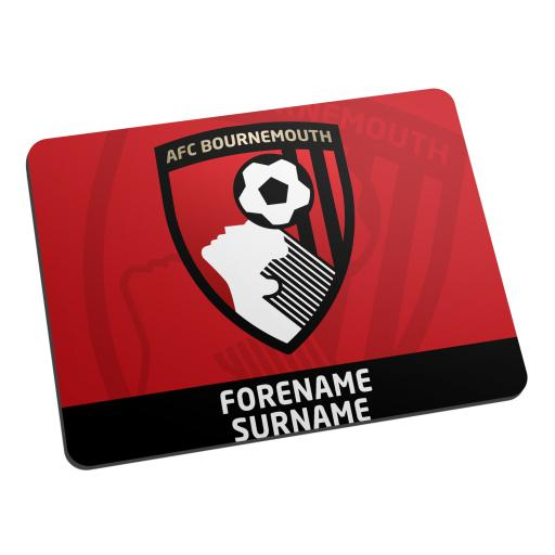 AFC Bournemouth Bold Crest Mouse Mat