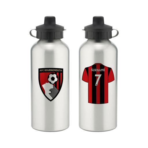 AFC Bournemouth Aluminium Water Bottle