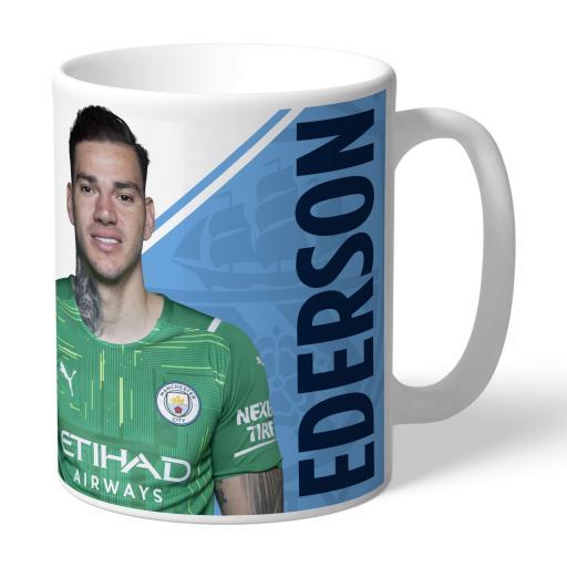 Manchester City FC Ederson Autograph Mug