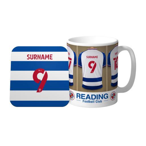 Reading FC Dressing Room Mug & Coaster Set