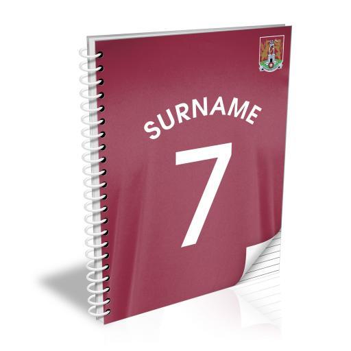 Northampton Town FC Shirt Notebook