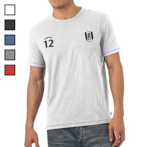 Fulham FC Mens Sports T-Shirt