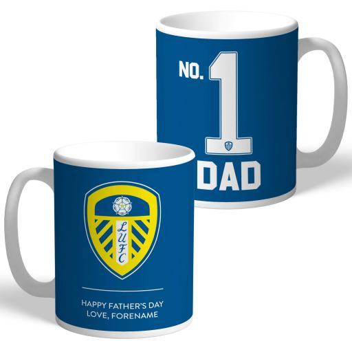 Leeds United FC No.1 Dad Mug