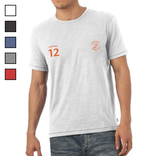 Luton Town FC Mens Sports T-Shirt