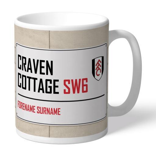Fulham FC Street Sign Mug