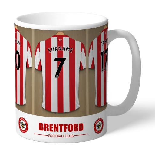 Brentford FC Dressing Room Mug