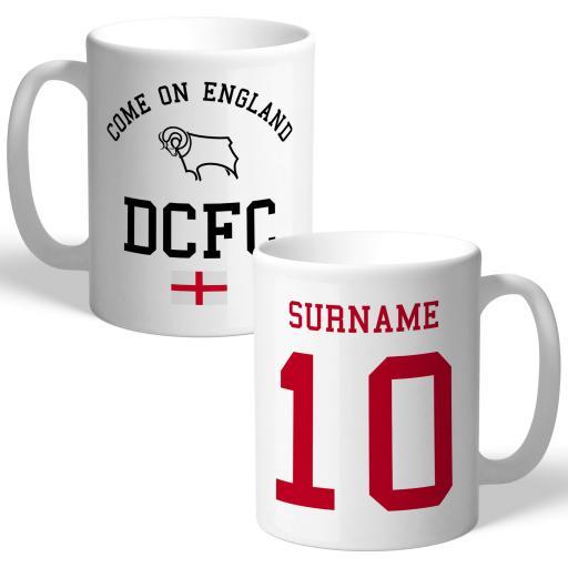 Derby County Come On England Mug