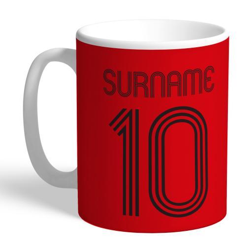 Manchester United FC Retro Shirt Mug