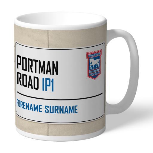 Ipswich Town FC Street Sign Mug