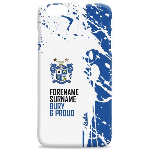 Bury FC Proud Hard Back Phone Case