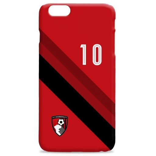 AFC Bournemouth Stripe Hard Back Phone Case
