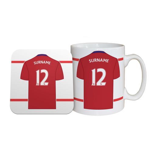 Middlesbrough FC Shirt Mug & Coaster Set