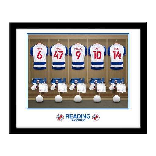 Reading FC Dressing Room Framed Print