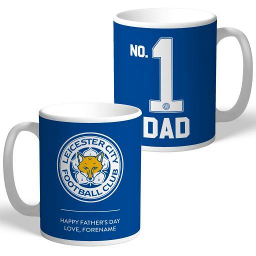 Leicester City FC No.1 Dad Mug