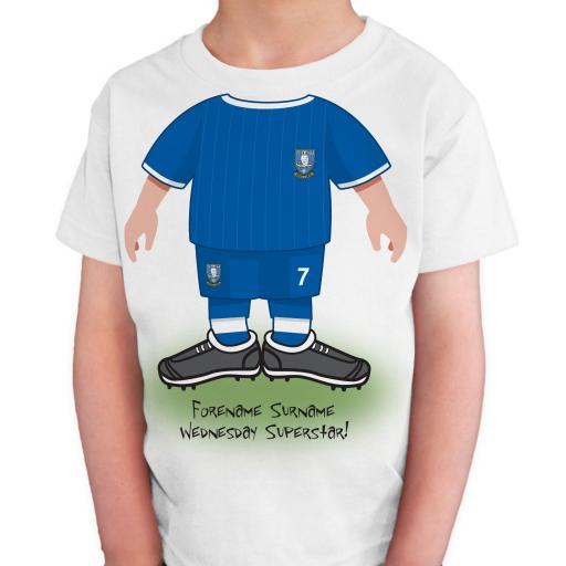 Sheffield Wednesday FC Kids Use Your Head T-Shirt