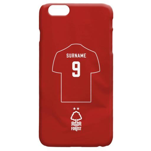 Nottingham Forest FC Shirt Hard Back Phone Case