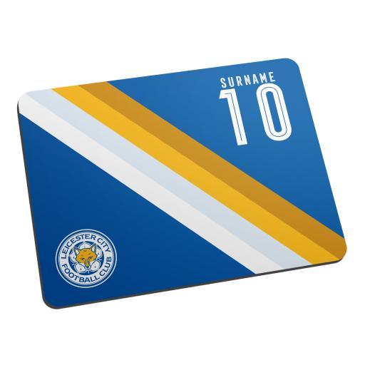 Leicester City FC Stripe Mouse Mat